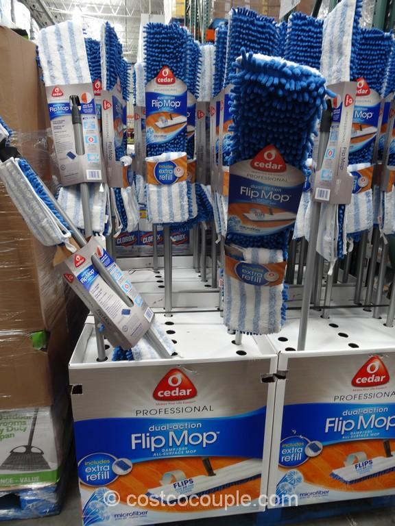 O Cedar Microfiber Damp Dry Flip Mop Costco 2