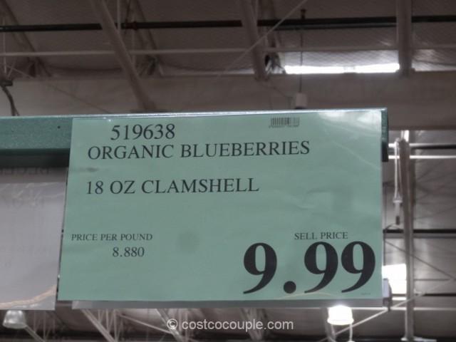 Organic Blueberries Costco 1