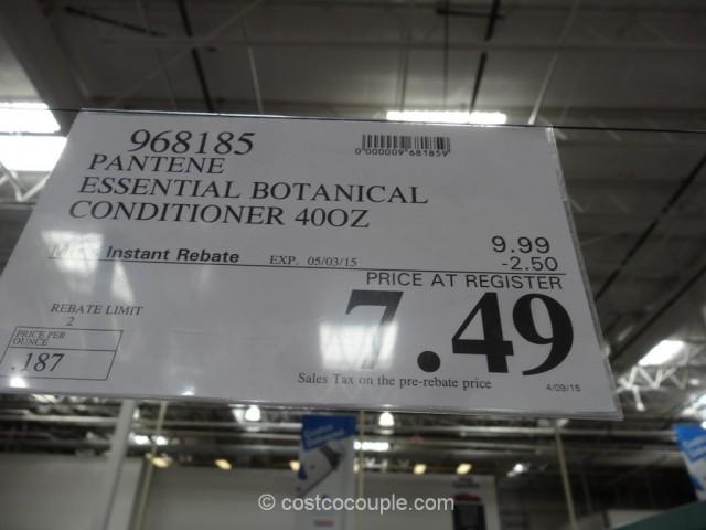 Pantene Essential Botanical Conditioner Costco 4