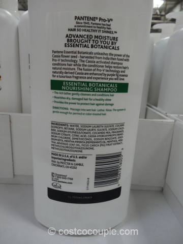 Pantene Essential Botanical Shampoo Costco 3