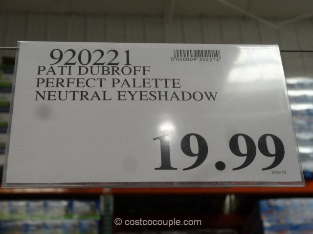 Pati Dubroff Perfect Palette Neutral Eyeshadow Set Costco 1