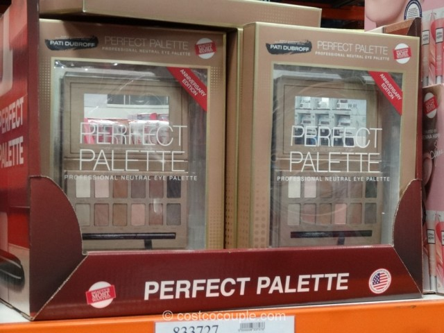 Pati Dubroff Perfect Palette Neutral Eyeshadow Set Costco 2