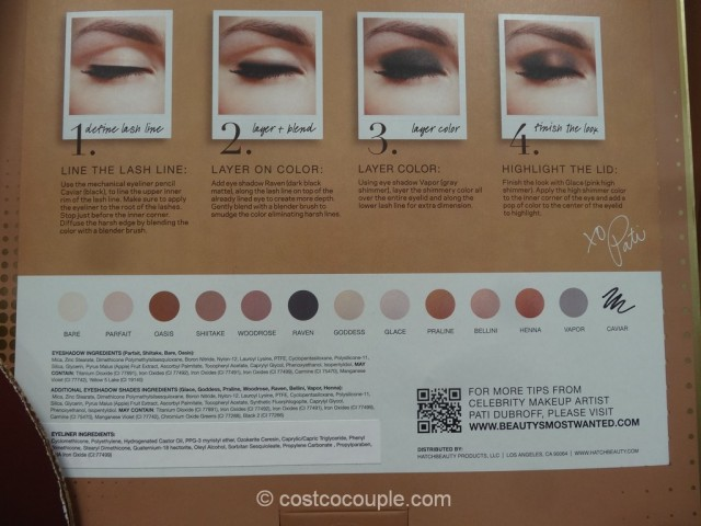 Pati Dubroff Perfect Palette Neutral Eyeshadow Set Costco 3