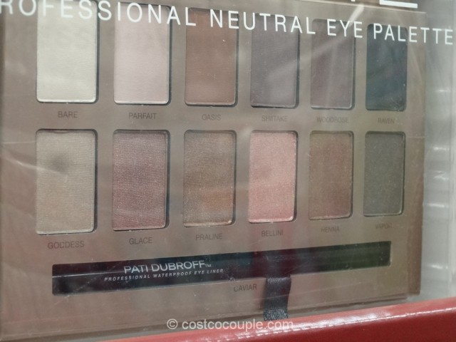 Pati Dubroff Perfect Palette Neutral Eyeshadow Set Costco 5
