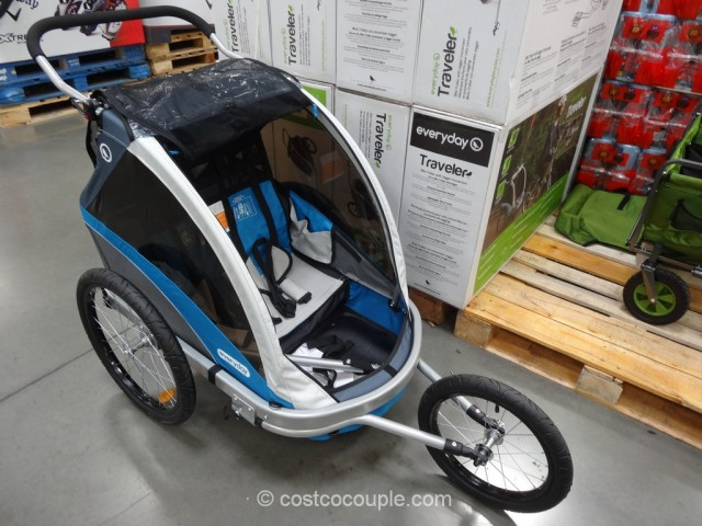 SMS Everyday Traveler Bike Trailer Kit Costco 2