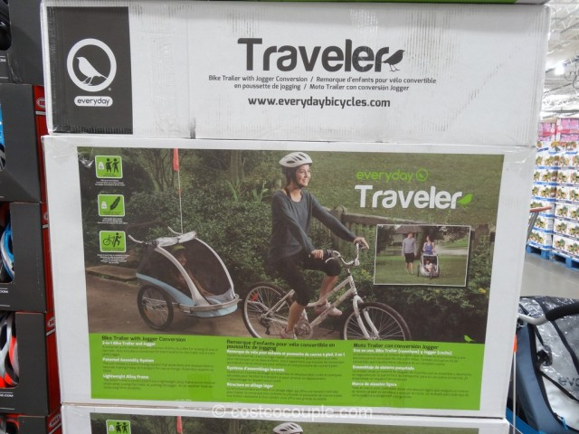 SMS Everyday Traveler Bike Trailer Kit Costco 5