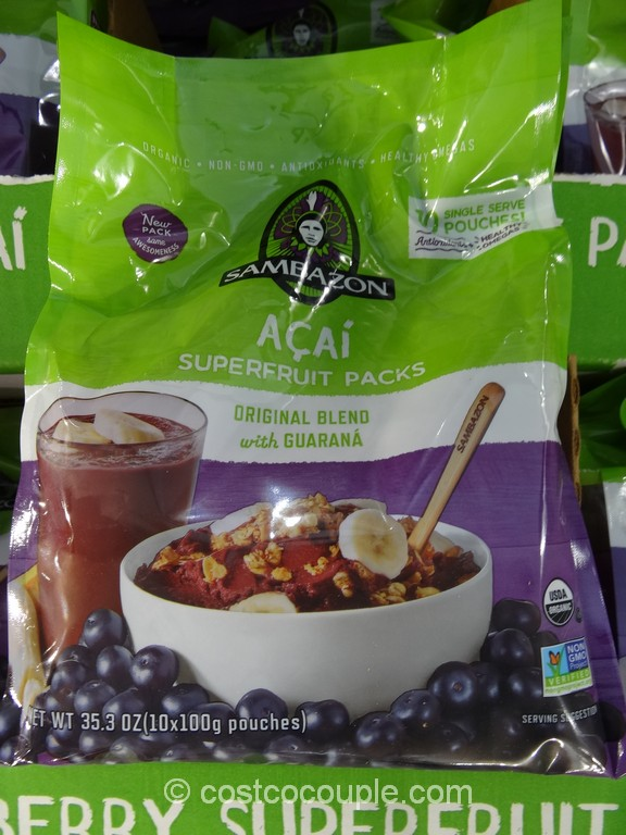 Sambazon Organic Acai Superfruit Costco 4