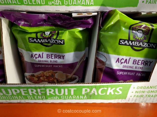 Sambazon Organic Acai Superfruit Pack Costco 3