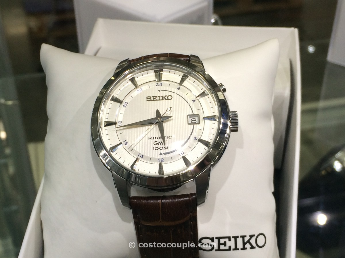 Seiko Kinetic GMT Watch Costco 2