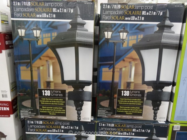 Solar LED Lamp Post Costco 1