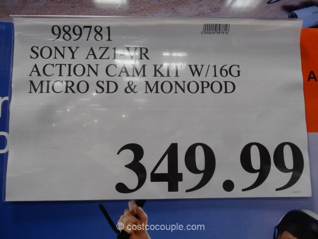 Sony Mini ActionCam Kit Costco 1