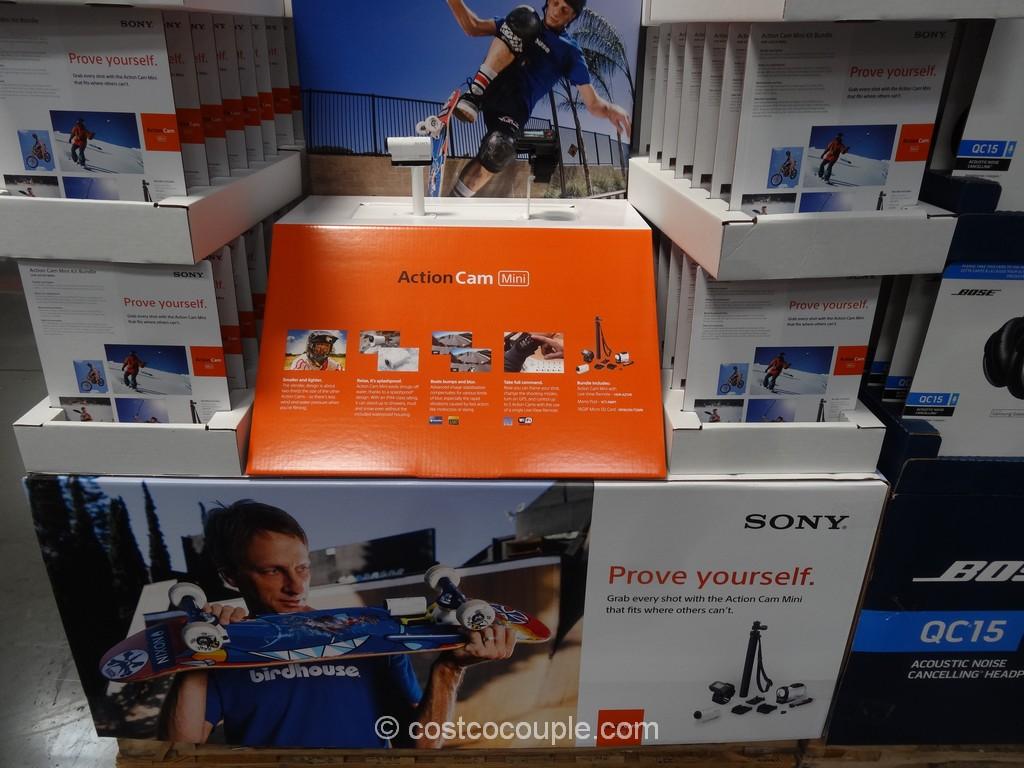 Sony Mini ActionCam Kit Costco 4