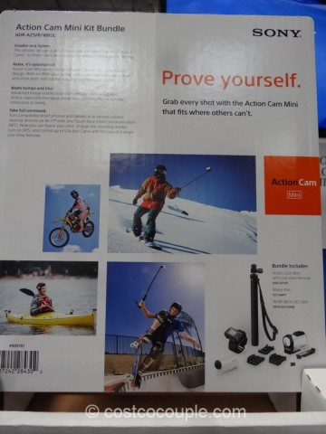 Sony Mini ActionCam Kit Costco 6