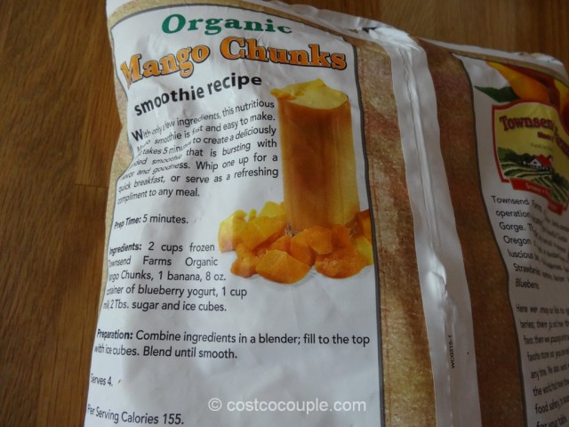 Townsend Farms Organic Mango Chunks