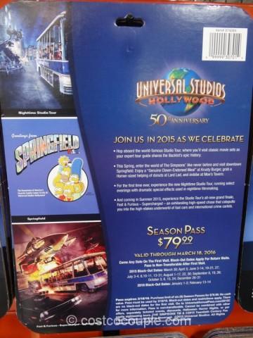 Universal Studios Hollywood 50th Anniversary Pass Costco 3