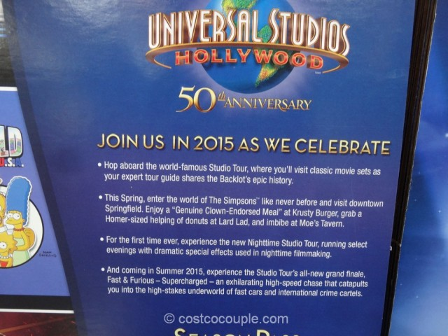 Universal Studios Hollywood 50th Anniversary Pass Costco 4