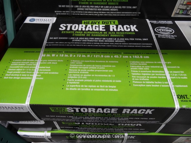 Whalen Heavy Duty Storage Rack Costco 3