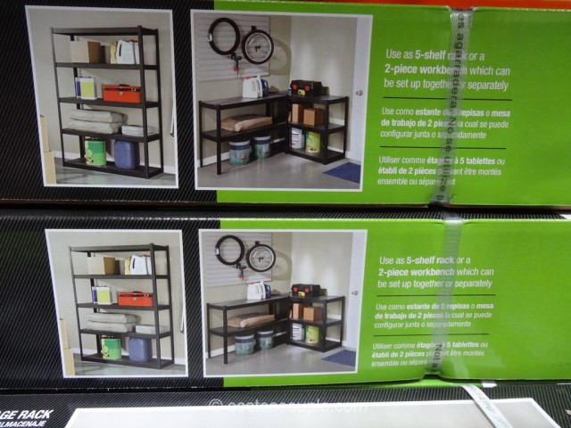 Whalen Heavy Duty Storage Rack Costco 5