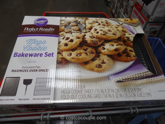 Wilton Mega Cookie Bakeware Set Costco 2