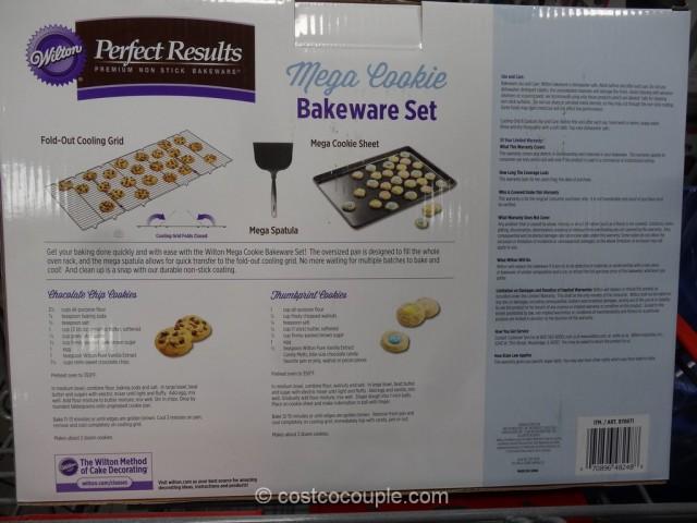 Wilton Mega Cookie Bakeware Set Costco 4