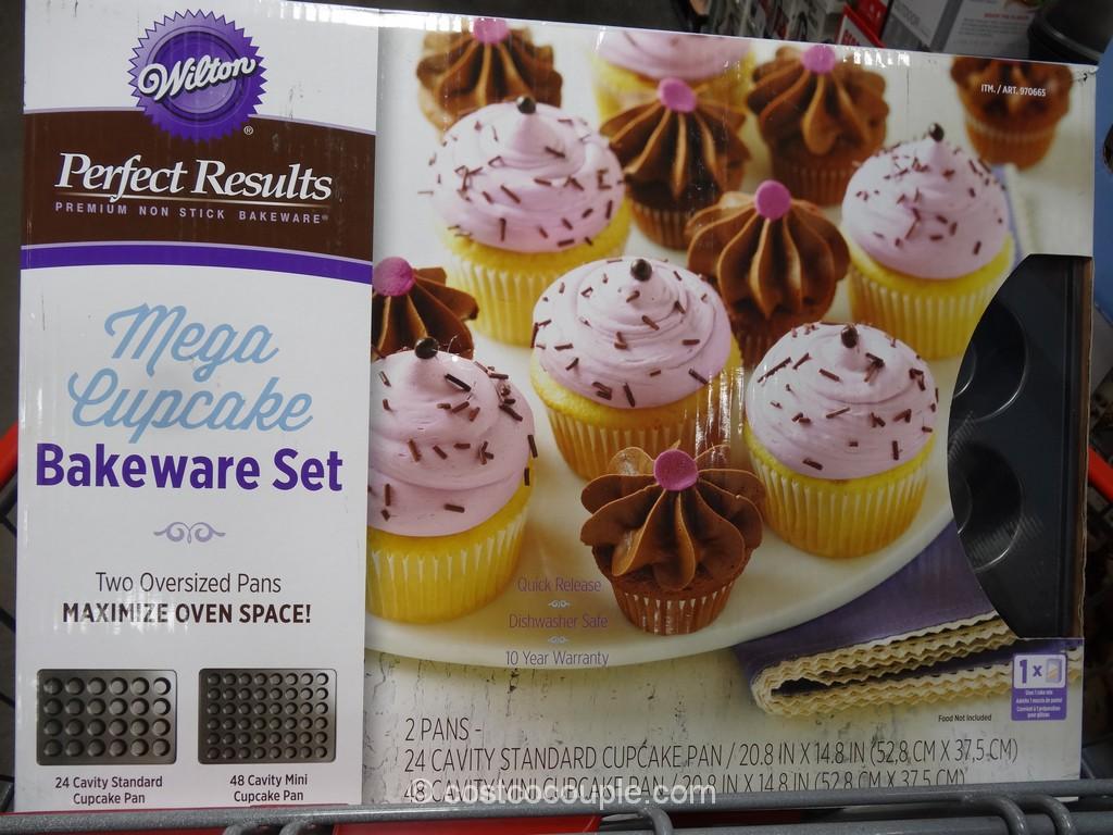 Wilton Mega Cupcake Bakeware Set Costco 3