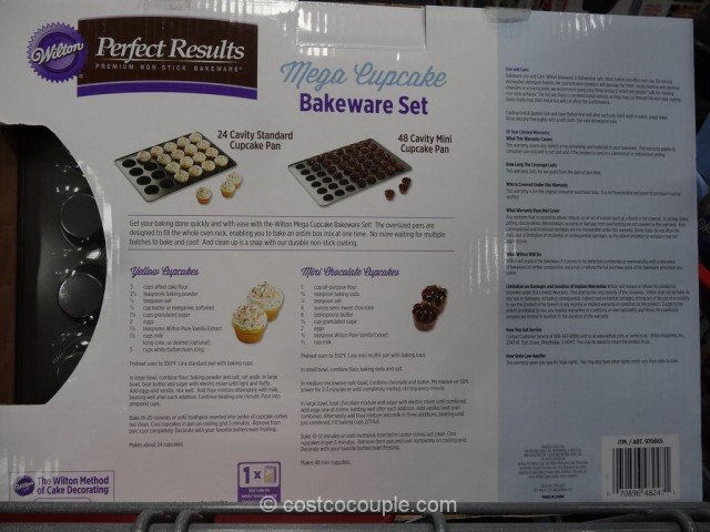 Wilton Mega Cupcake Bakeware Set Costco 5