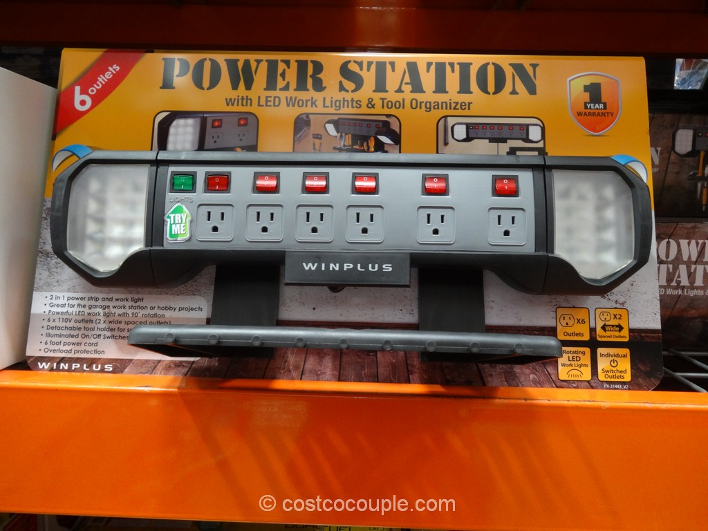 Winplus Wall Mount Power Station Costco 1