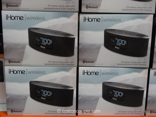 Ihome Bluetooth Clock Ibt31
