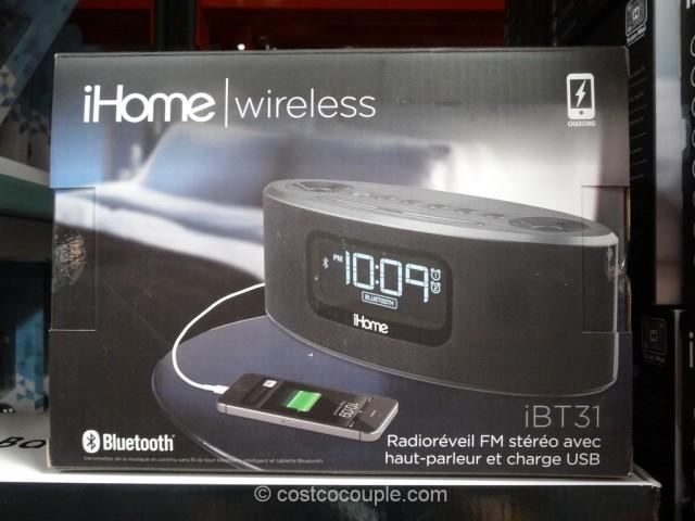 iHome Bluetooth Clock iBT31