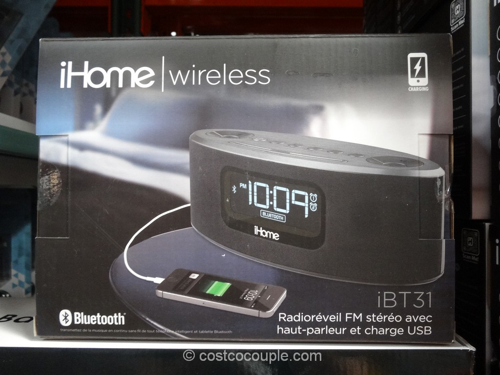 iHome Bluetooth Clock iBT31 Costco 4