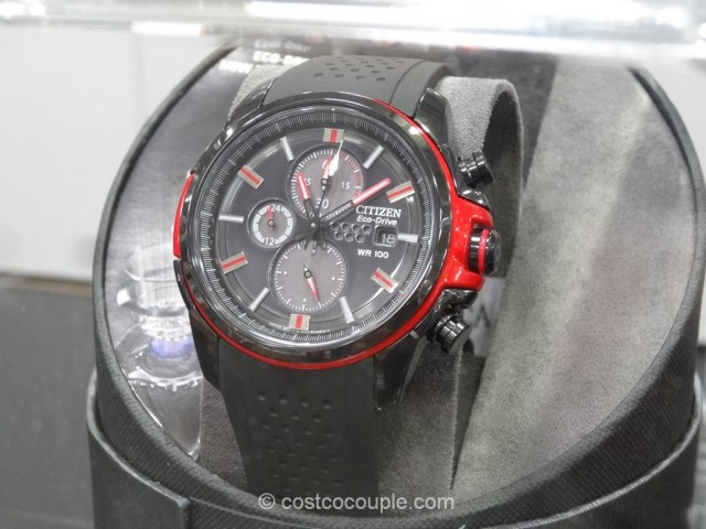 Citizen Eco-Drive Red and Black Drive Watch Costco 2