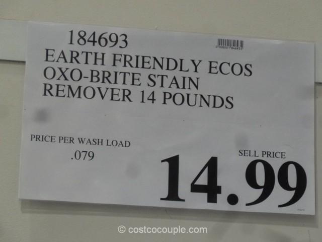 Ecos Oxo-Brite Stain Remover Costco 1