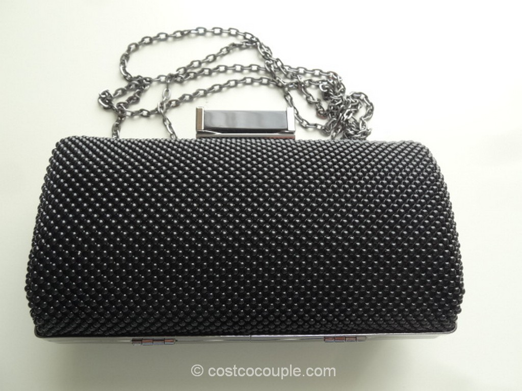 Jessica McClintock Mesh Clutch Costco 2