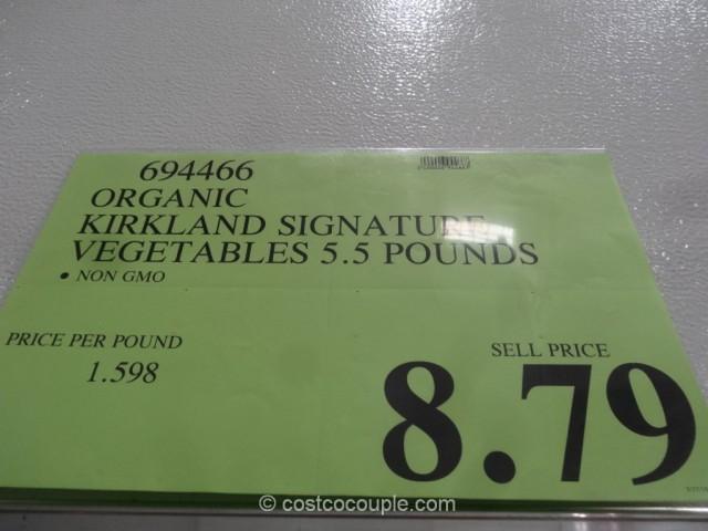 Kirkland Sigature Organic Vegetable Medley Costco 1