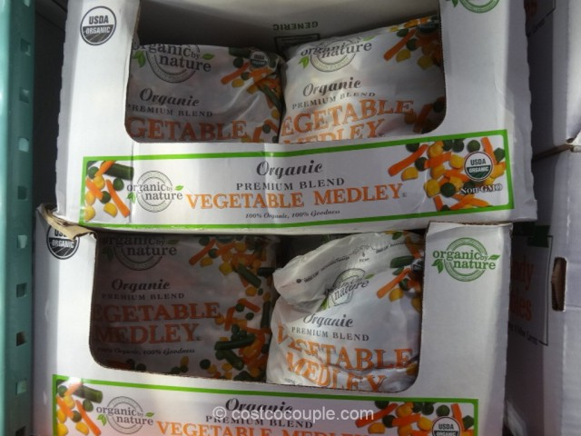 Kirkland Sigature Organic Vegetable Medley Costco 2