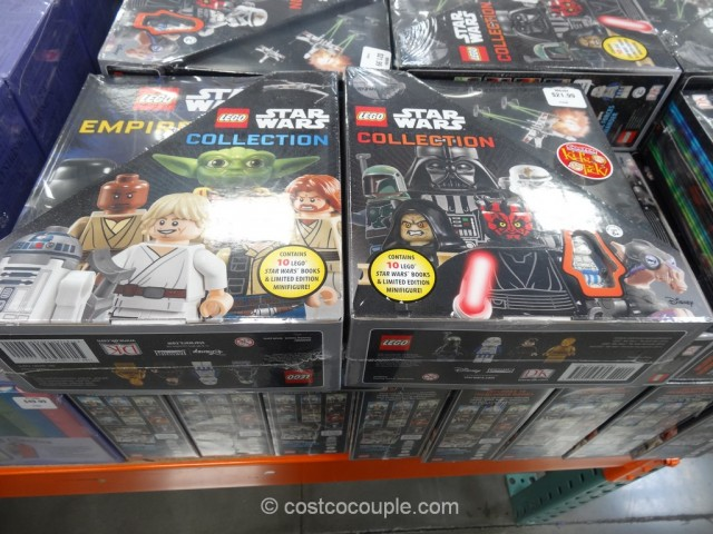 Lego Star Wars Book Collection Set
