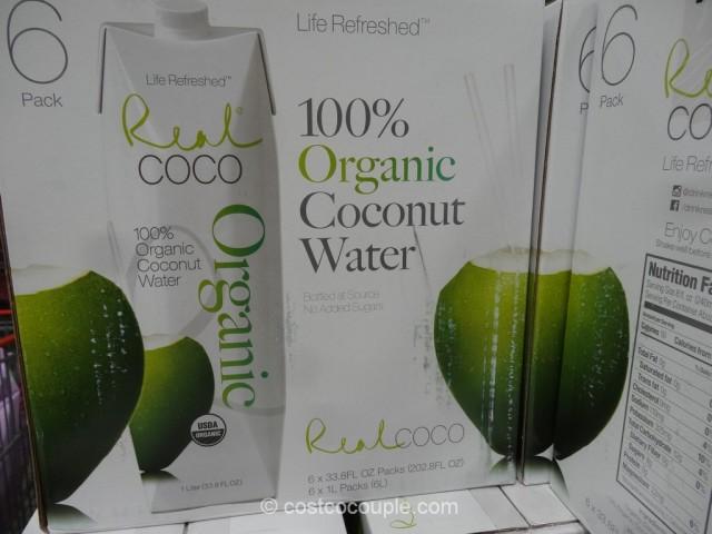 Real Coco Organic Coconut Water Costco 3