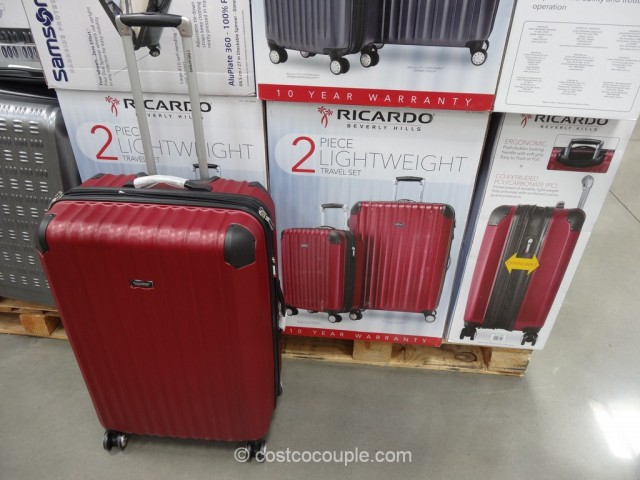 Ricardo 2-Piece Lightweight Travel Set Costco 2