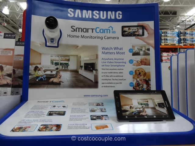 Samsung SmartCam Home Monitoring Camera Costco 2