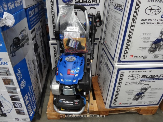 Subaru Electric Start Gas Pressure Washer Costco 1