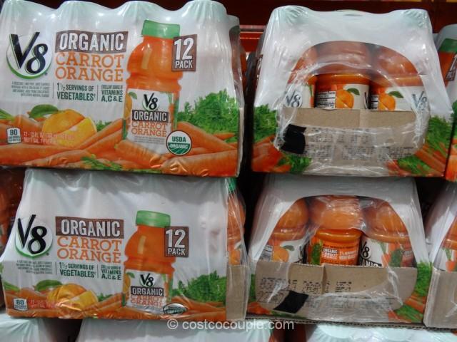 V8 Organic Carrot Orange Juice Costco 3