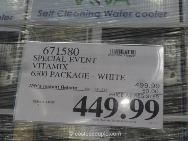 Vitamix Rebate