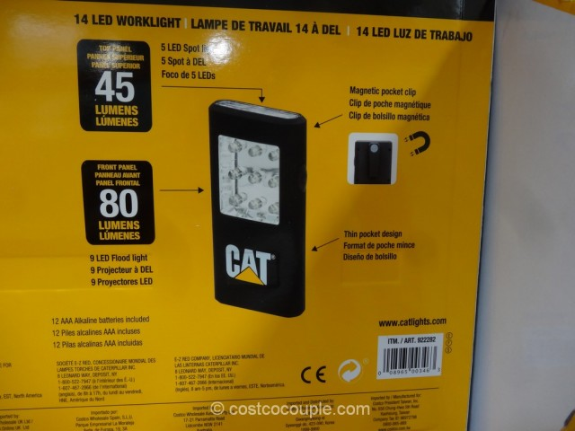 Cat LED Worklights with Magnets Costco 5