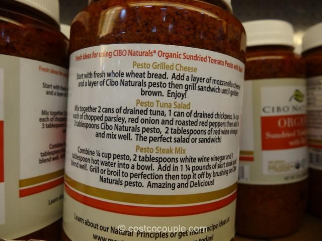 Cibo Organic Sundried Tomato Pesto Costco 3
