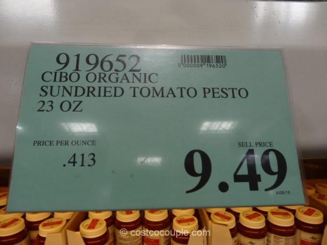Cibo Organic Sundried Tomato Pesto Costco 4