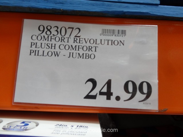 Comfort Revolution Plush Comfort Pillow Costco 1