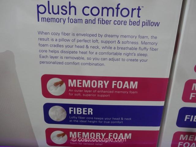 Comfort Revolution Plush Comfort Pillow Costco 4