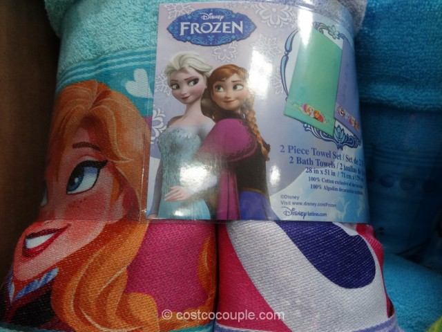Disney Frozen Towel Set Costco 4