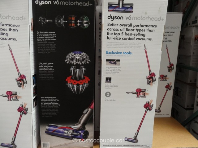 Dyson V6 Motorhead Cordless Stick Vacuum Costco 2