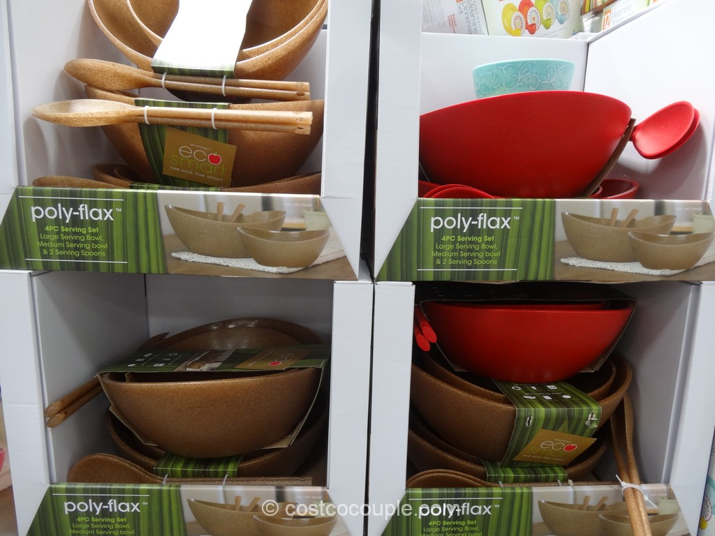 Eco Smart Architec Polyflax Serving Bowl Set Costco 4